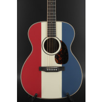 Larrivee Custom American OM Red, White and Blue Limited Edition 1-of-6