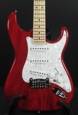 G&L 40th Anniversary S-500 Clear Ruby Red #4206