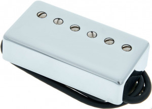 Lollar Imperial High Wind Humbucker Pickup, Neck, Chrome, 4 Cond