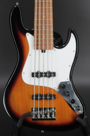 Sadowsky MetroExpress Vintage J/J Bass, Morado (Pau Ferro) Fingerboard, 5-String - Tobacco Burst #1199