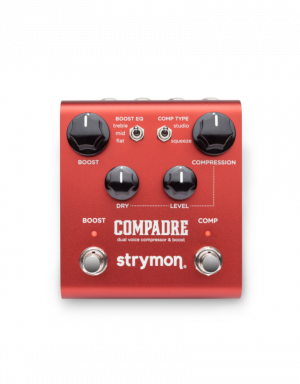 Strymon Compadre Dual Voice Compressor & Boost Pedal